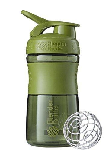 New Blender Bottle SportMixer 20 oz Moss Green Bottle Tritan Grip Full Colors Assorted