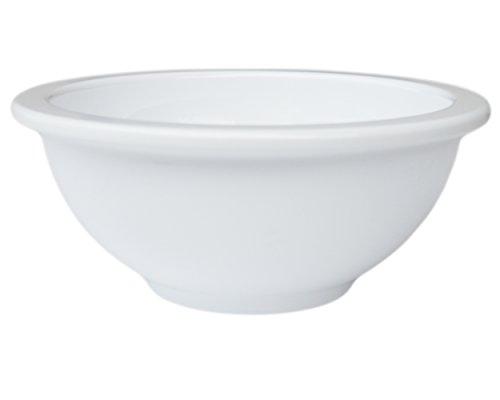 Set of 10 Amatahouse Round Soy Sauce Dish Sushi Wasabi Plates Soy Sauce Dipping Bowls Ektra Melamine White 3 14 inch D2111