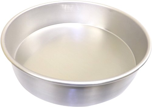 Allied Metal CPH4X3 Heavy Weight Aluminum Straight Sided PizzaCake Pan 4 by 3-Inch