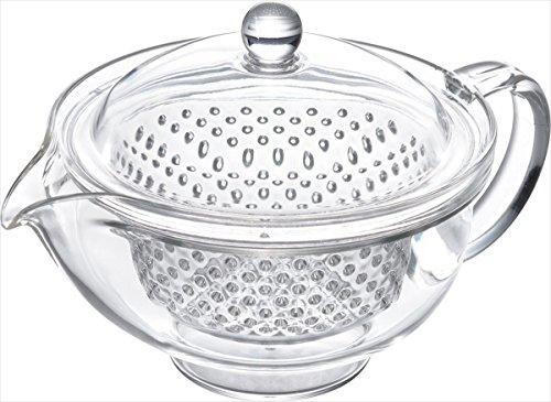 Akebono Kakusee Clear Tea Pot 280ml TW-3713 from Japan