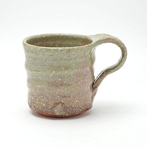 Hagi yaki Japanese ceramic Mug cup made by Keizan Utagawa