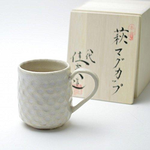 Hagi yaki Japanese ceramic Mug made by Keien Kaneta