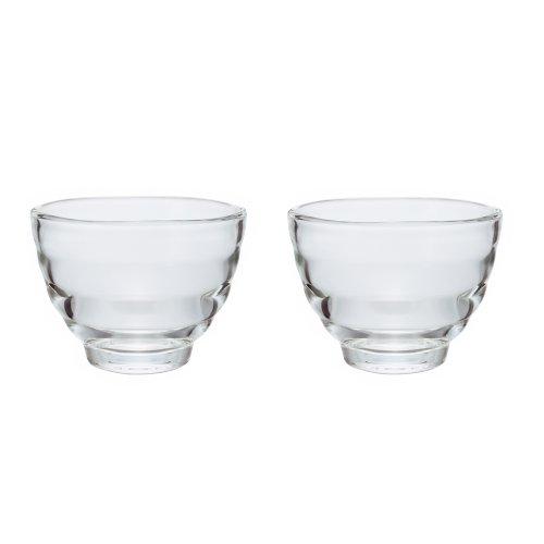 Hario Yunomi Heatproof Tea Cup 170ml 2 Count Clear
