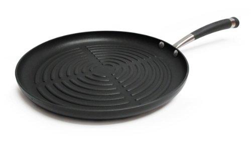 Circulon Contempo Hard Anodized Nonstick 12-Inch Round Grill Pan