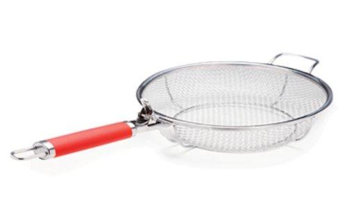 Maverick MFP-01R-Red Mesh Grill Frying Pan