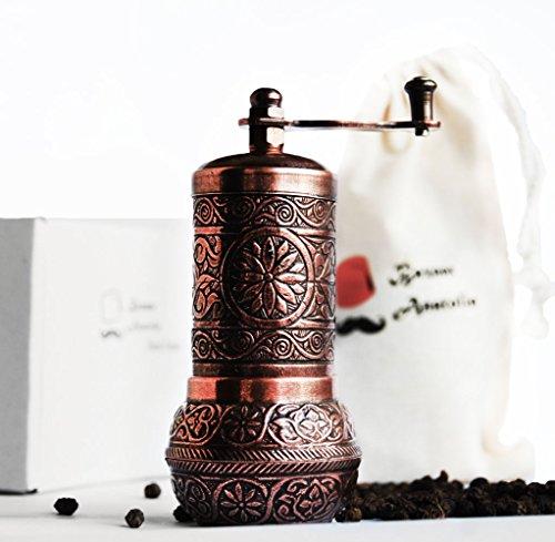 Turkish Grinder Spice Grinder Salt Grinder Pepper Mill 42 Antique Copper