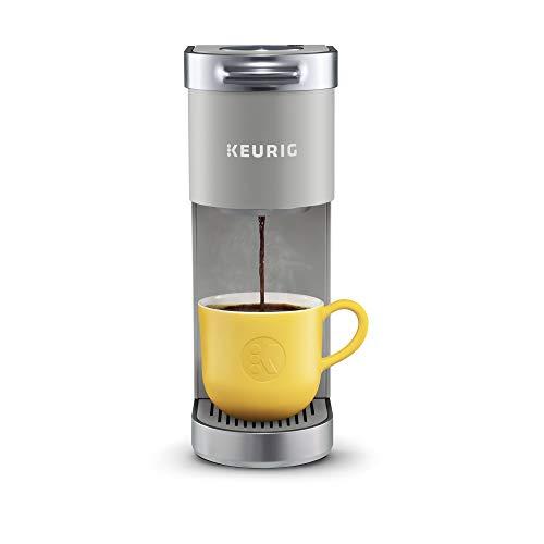 Keurig K-Mini Plus Coffee Maker Single Serve K-Cup Pod Coffee Brewer Comes With 6 to 12 oz Brew Size K-Cup Pod Storage and Travel Mug Friendly Studio Gray