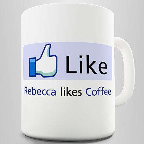 Ceramic Funny Mug Personalised Coffee Lover By Twisted Envy 15 OZ