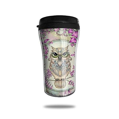 Owl Art Coffee Mug Cool Personalized Tea Mug Custom Printed Insulated Mugs 250 ML Travel Mugs Unique Design Cups