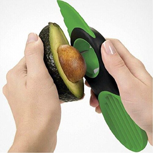 Generic 3 In 1 Avocado Slicer Peeler Skinner