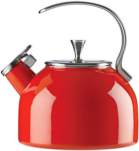 KSNY All in Good Taste 857004 Metal Kettle Red