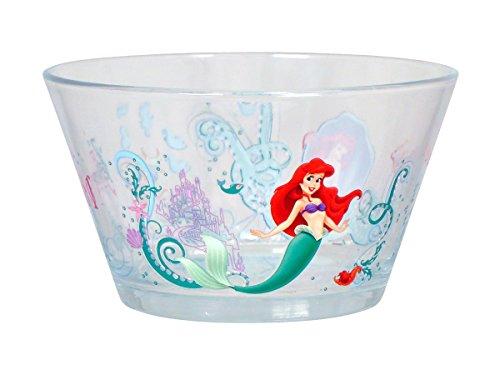 Disney Ariel Glass Bowl Multicolor Set of 2