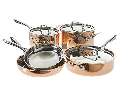 Cuisinart Tri-Ply Copper Cookware Set 8-Piece