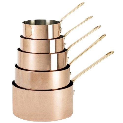 De Buyer 644516 19 Qt Copper Sauce Pan