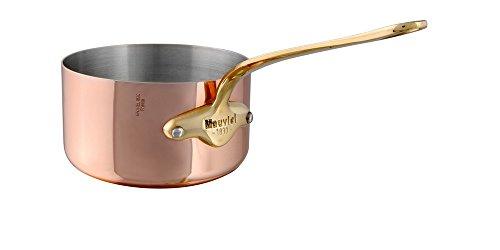 Mauviel 55 Copper Sauce Pan - Bronze Handle