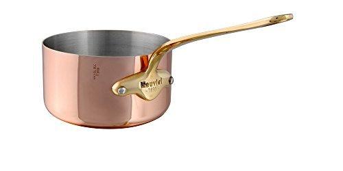 Mauviel 55 Copper Sauce Pan - Bronze Handle by Mauviel