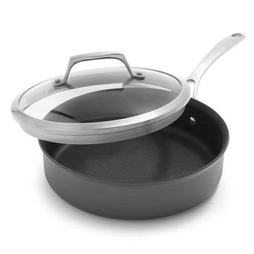 Sur La Table Dishwasher-Safe Hard Anodized Nonstick Saute Pan 84380-C 3 qt