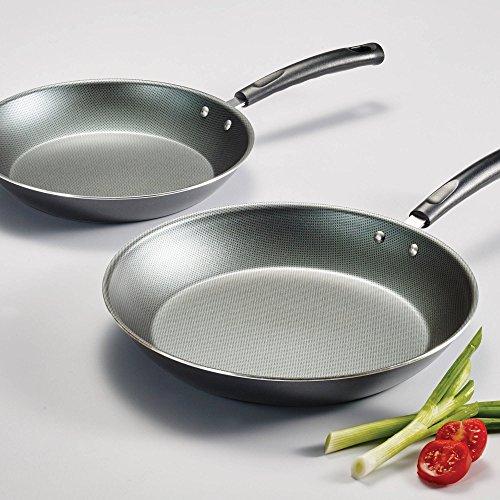 Tramontina PrimaWare 2-Piece Nonstick Saute Pan Set Steel Gray
