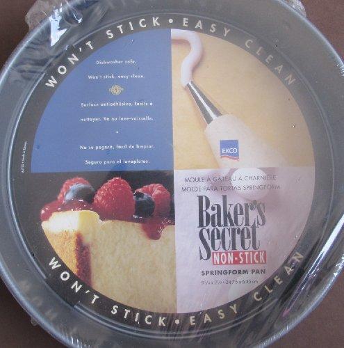 Bakers Secret NON Stick SPRINGFORM PAN 9-34 BAKING Spring Form PAN