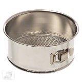 Browne 746061 8 Polished Tin Spring Form Cake Pan