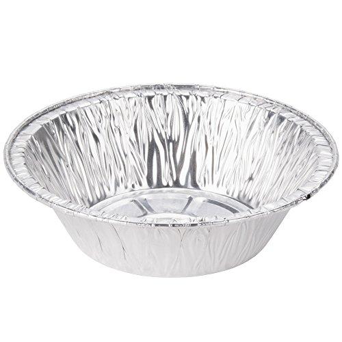 Aluminum Foil Pot Pie Pans from Bakers Mark 25 5 inch diameter