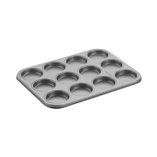 Cake Boss Novelty Nonstick Bakeware 12-Cup Whoopie Pie Pan Gray