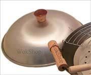Wok Shop Aluminum Dome Wok Cover15 Inch for 16 Wok