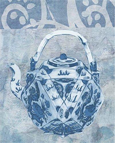 Chinese Teapot I Poster Print by Naomi McCavitt 18 x 22