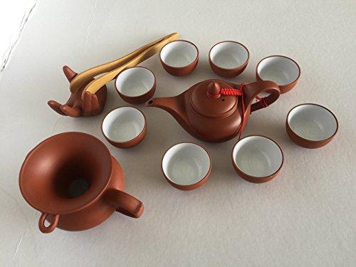 China Ceramic Tea-potchinese teapot set Gaiwan Kung Fu Tea Set Tea cups set for 8