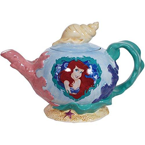 Westland Giftware Ceramic Teapot Pearl of The Sea 36 oz Multicolor
