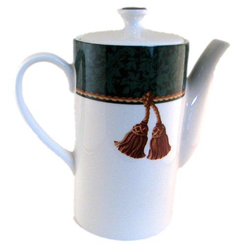 Hallmark Holiday Abundance Green Teapot With Lid by Sakura