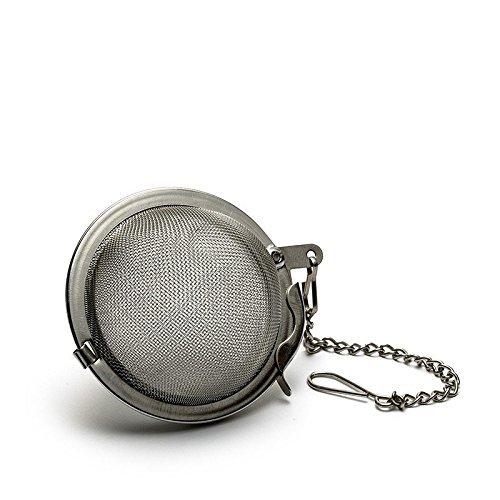 Stainless Steel Mesh Tea Infuser Sphere Locking Tea Ball Strainer - Medium Size 5cm 1