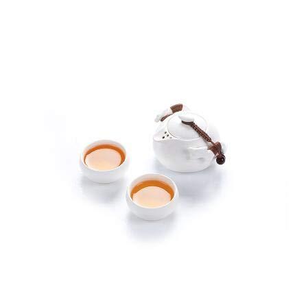 TANGPIN ceramic teapot kettle gaiwan tea cup for puer chinese tea pot portable tea set with travel bagStyle RTravel tea sets