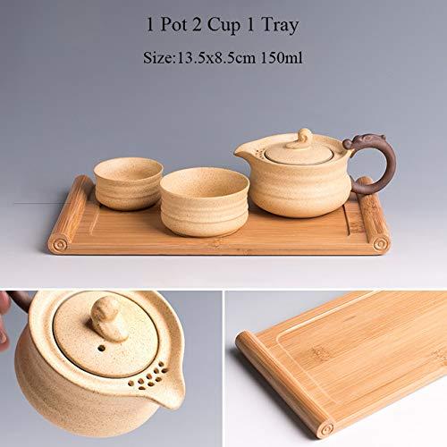 TANGPIN ceramic teapot kettle gaiwan tea cup for puer chinese tea pots portable tea set drinkwareStyle L