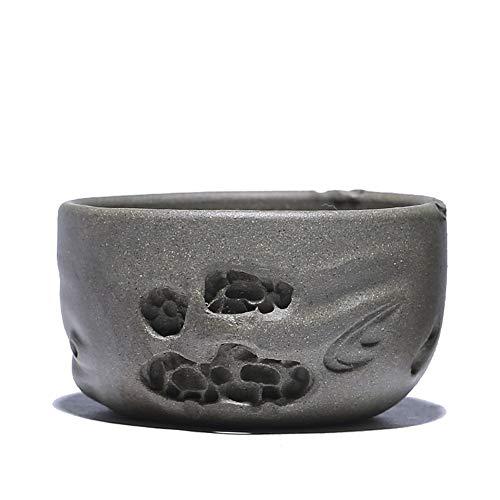 Teapot Yixing Zisha Small Tea Cup Handmade Creative Stone Personal Cup Single Cup Jingshi Tea Bowl Product Cup Chinese Tea Pot Color  Brocade box packaging
