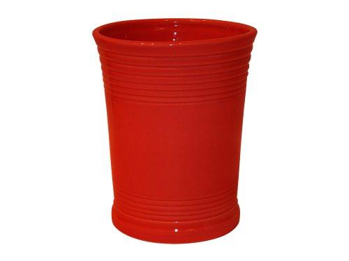 Fiesta 6-5/8-inch Utensil Crock, Scarlet