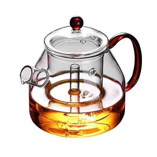Teapot Glass Steaming Teapot High Temperature Steamed Tea Boiled Teapot Boiling Water Pot Filter Teapot Boiled Teapot