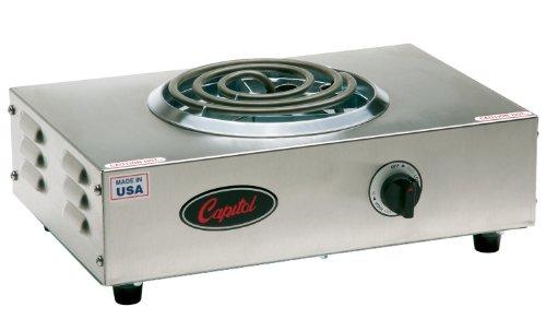 "Capitol Range Single Burner Hot Plate, 17.5"" X 3.5"" X 11.5"""