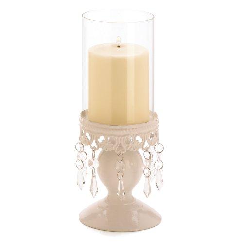 Victorian Hurricane Lantern Candle Holder Centerpiece