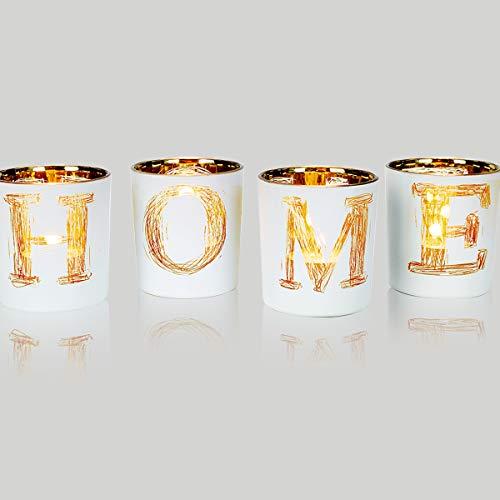 lEPECQ Christmas Table Centerpieces Votive Candle Holders Home Decor Votive Candle Holder Set Christmas Decorative Tealight Candle Holders for Festival Day WeddingHome Party