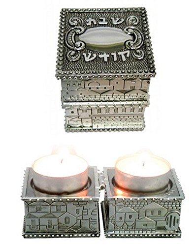 Shabbat Travel Candlesticks - Jewish Gift