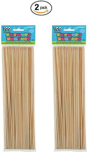 Bamboo Skewers 100ct 2