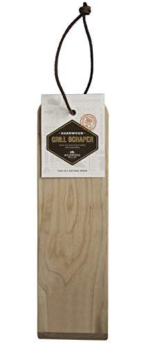 Wildwood Grilling Hardwood Wooden Grill Scraper