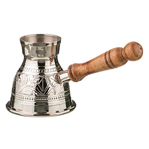 Turkish Greek Coffee Pot Volume 101 Oz - 300ML Ibrik Briki Cezve Turka