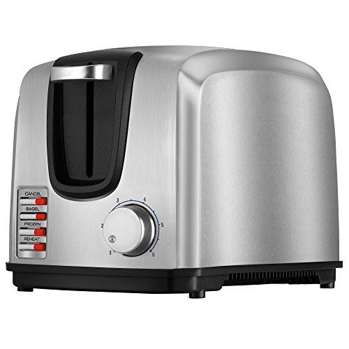 BLACKDECKER 2-Slice Toaster Modern Stainless Steel T2707S