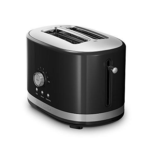 KitchenAid KMT2116OB 2 Slice Slot Toaster with High Lift Lever Onyx Black