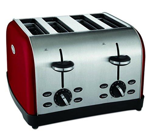 Oster TSSTTRWF4R-SHP 4-Slice Toaster Red