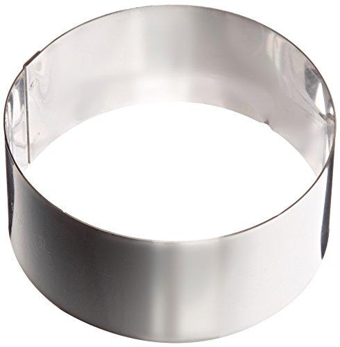 Matfer Bourgeat 371802 Ice Cake Ring Silver