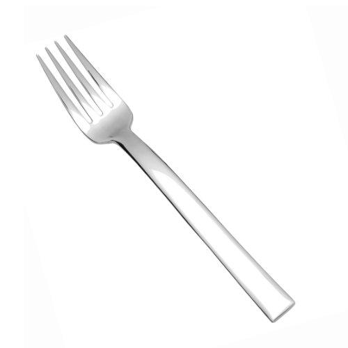 Fortessa Still 1810 Stainless Steel Flatware SaladDessert Fork Set of 12