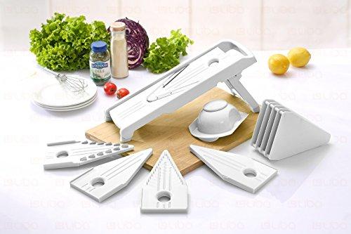 Mandoline Slicer - Vegetable Slicer - Food Slicer - Vegetable Cutter - Cheese Slicer - Vegetable Julienne Slicer